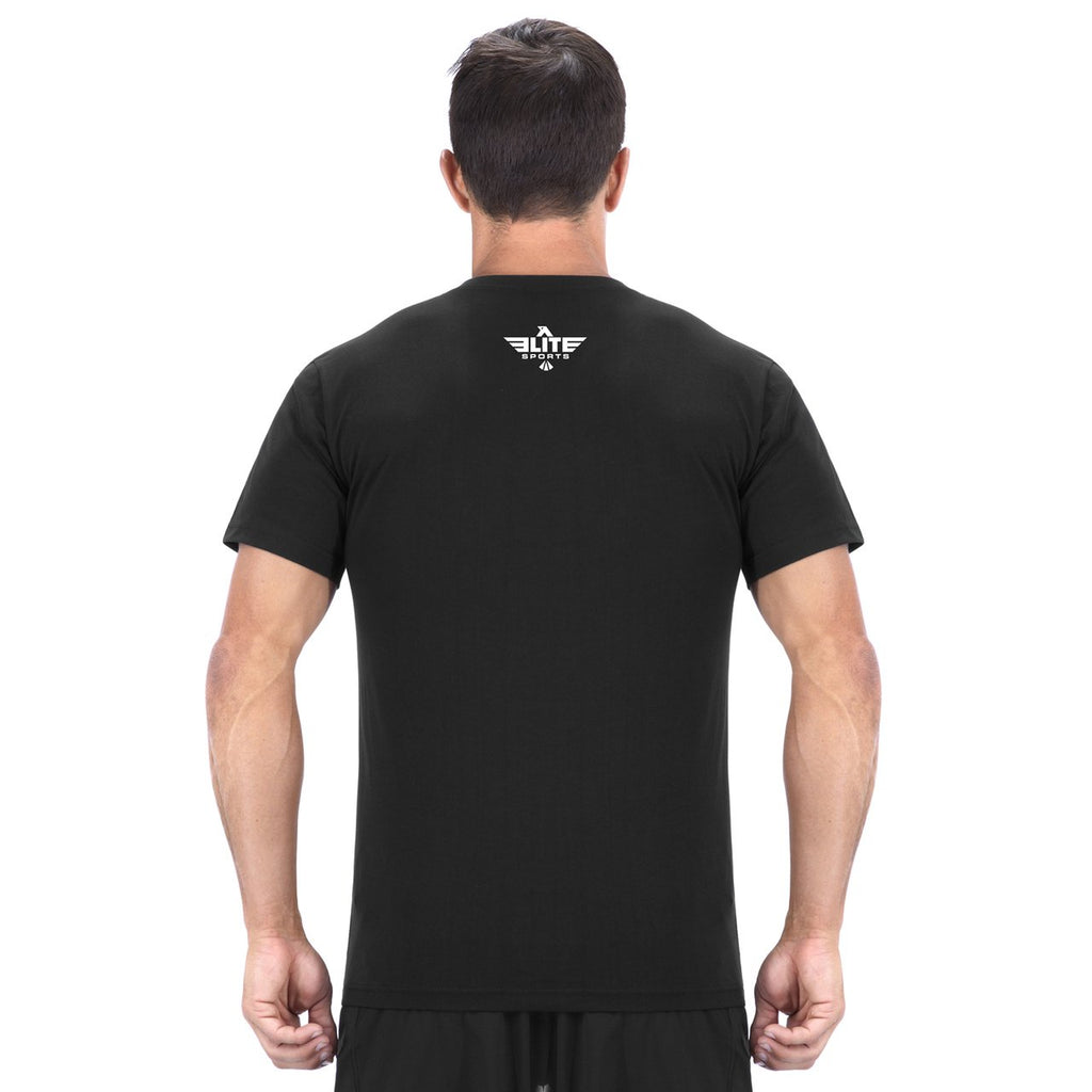 Elite Sports Black Wrestling T-Shirts
