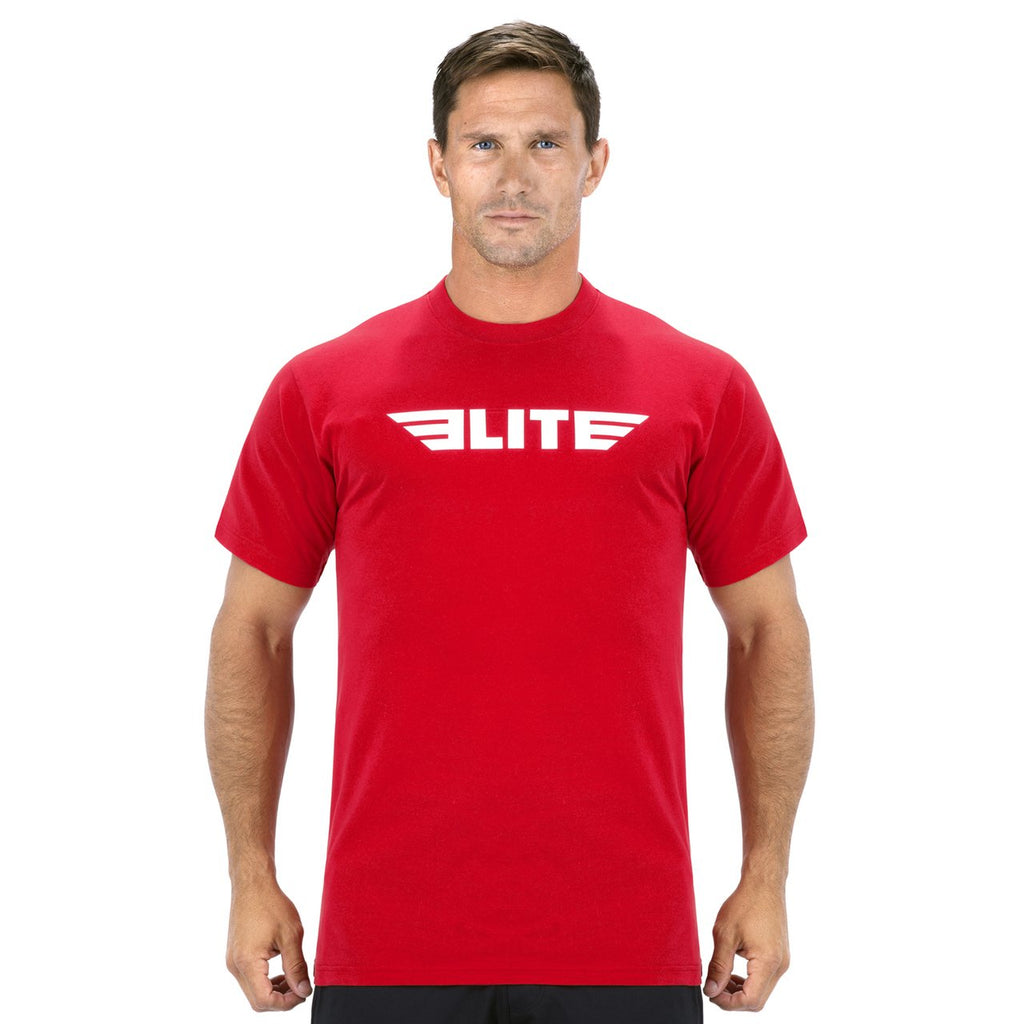 Elite Sports Red Training T shirt