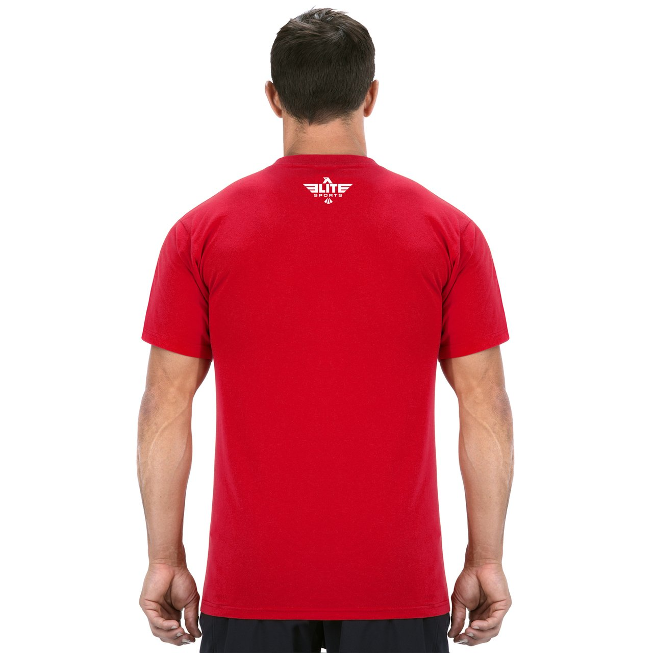 Load image into Gallery viewer, Elite Sports Red Training T shirt