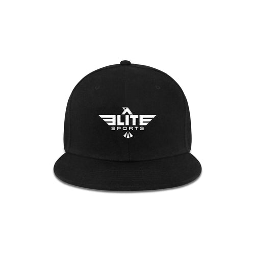 Elite Sports Snapback Black Cross Fit Cap