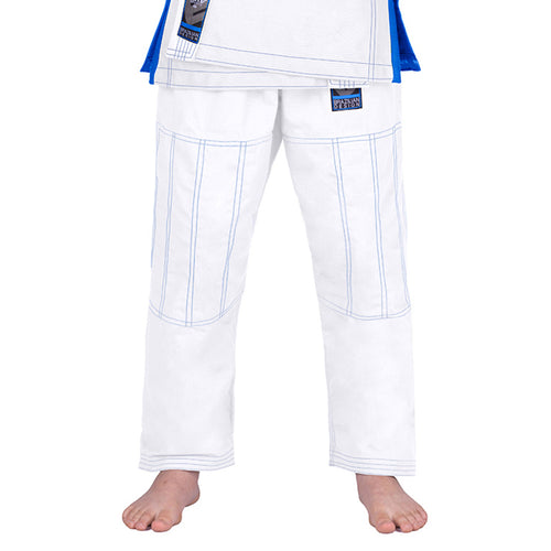 Elite Sports White Kids Brazilian Jiu Jitsu BJJ Pant