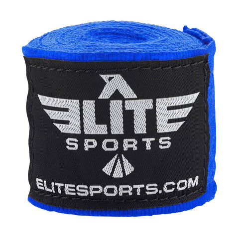Elite Sports Blue Training Hand Wraps