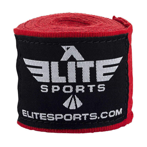 Elite Sports Red Boxing Hand Wraps