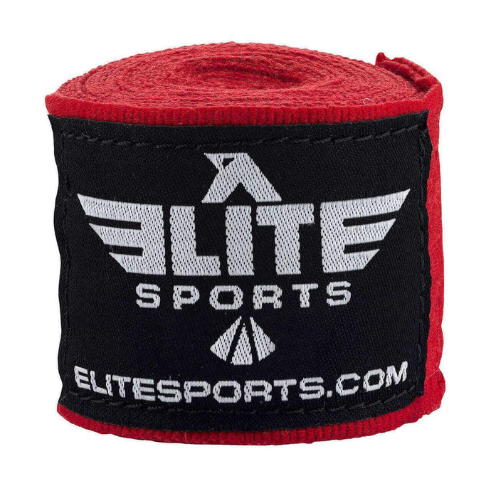 Elite Sports Red Muay Thai Hand Wraps