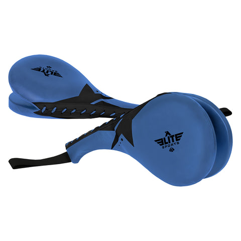 Elite Sports Black/Blue Sparring Taekwondo Kick pad