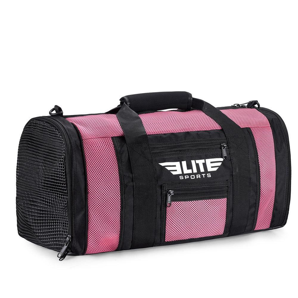 Load image into Gallery viewer, Elite Sports Mesh Pink Large Taekwondo Gear Gym Bag