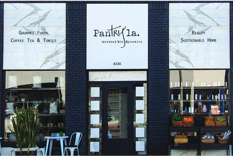 Pantry LA is located in Los Angeles and is the first partner store in the US with Erthe Life. Photo Credit: Bello Mag