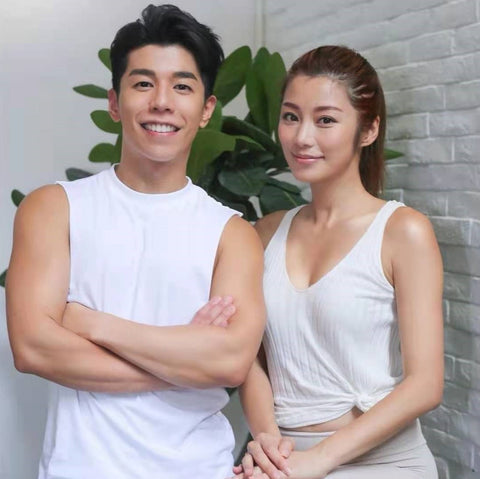 Andy Lin and Wiyona Yeung partnering with Erthe Life