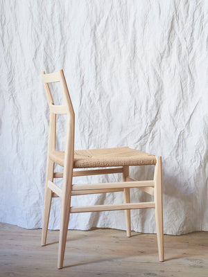 Cassina Leggera chair by Gio Ponti / natural