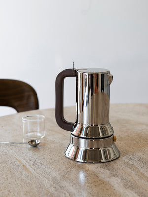 Alessi 9090 Coffee Maker by Richard Sapper