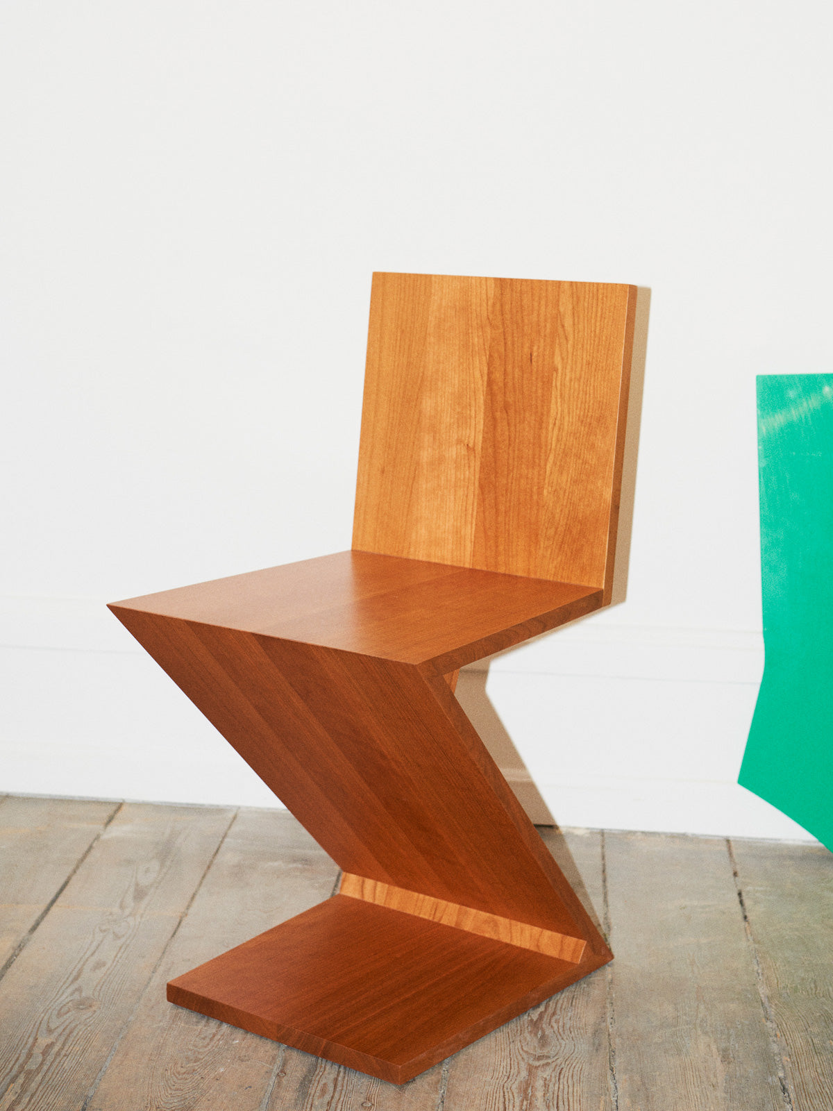 Cassina Zig Zag chair by Gerrit Thomas Rietveld