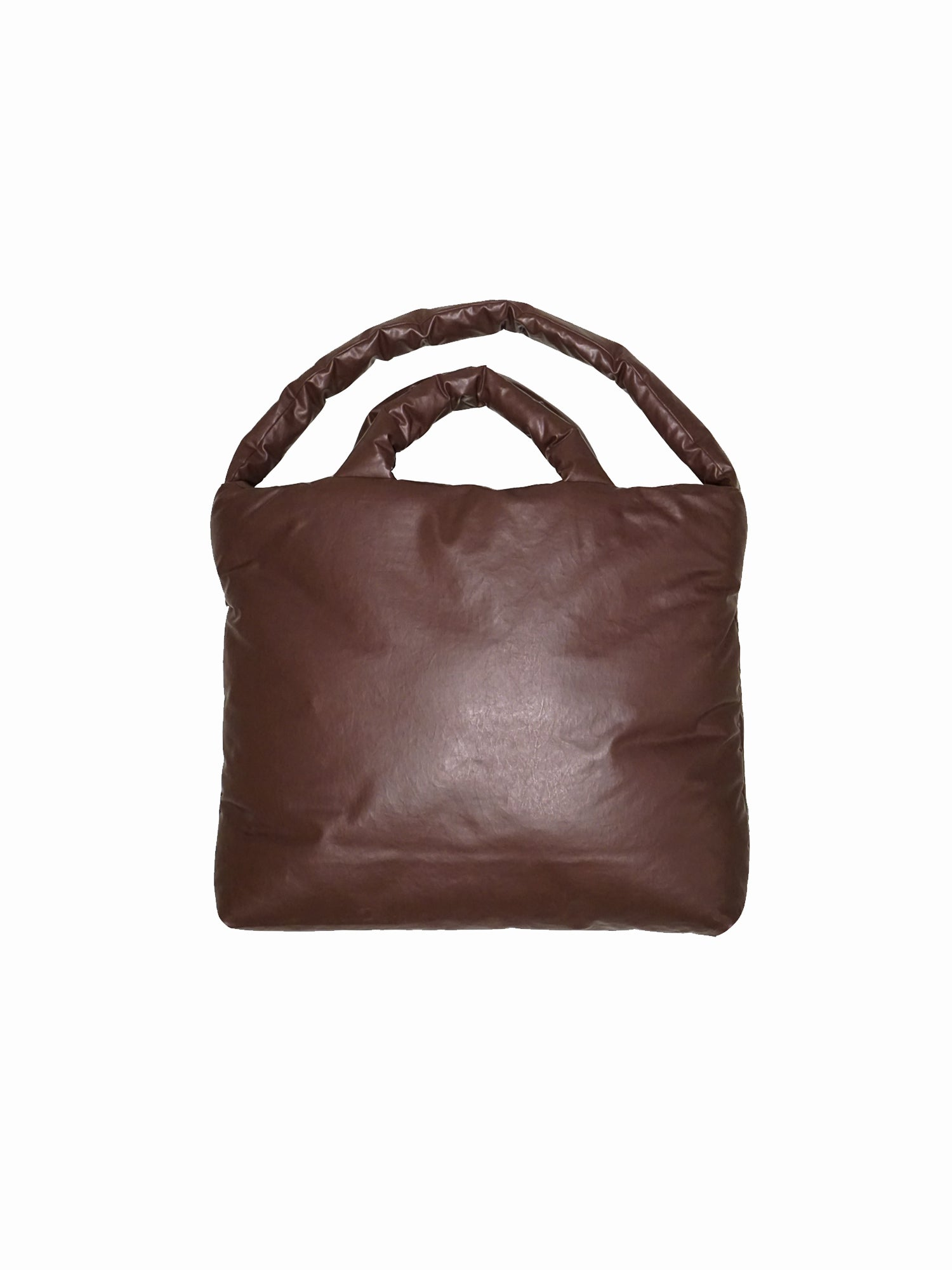 KASSL Editions Bag Large Rubber Dark Brown