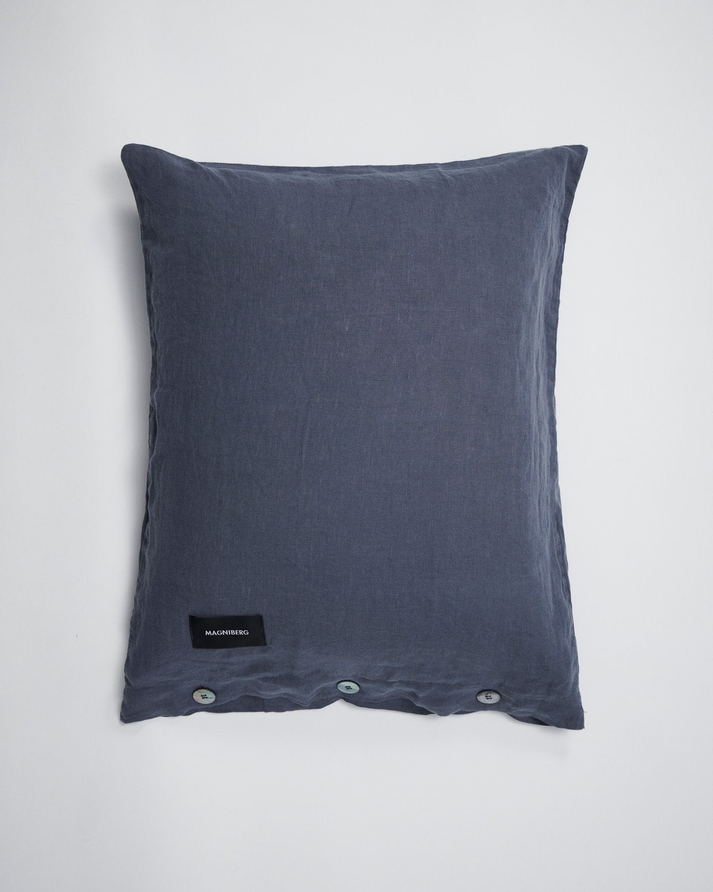 Magniberg Mother Pillow Case Linen Bluish Grey