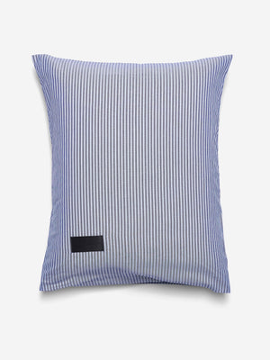 Magniberg Wall Street Oxford Pillow Case Stripe Dark Blue
