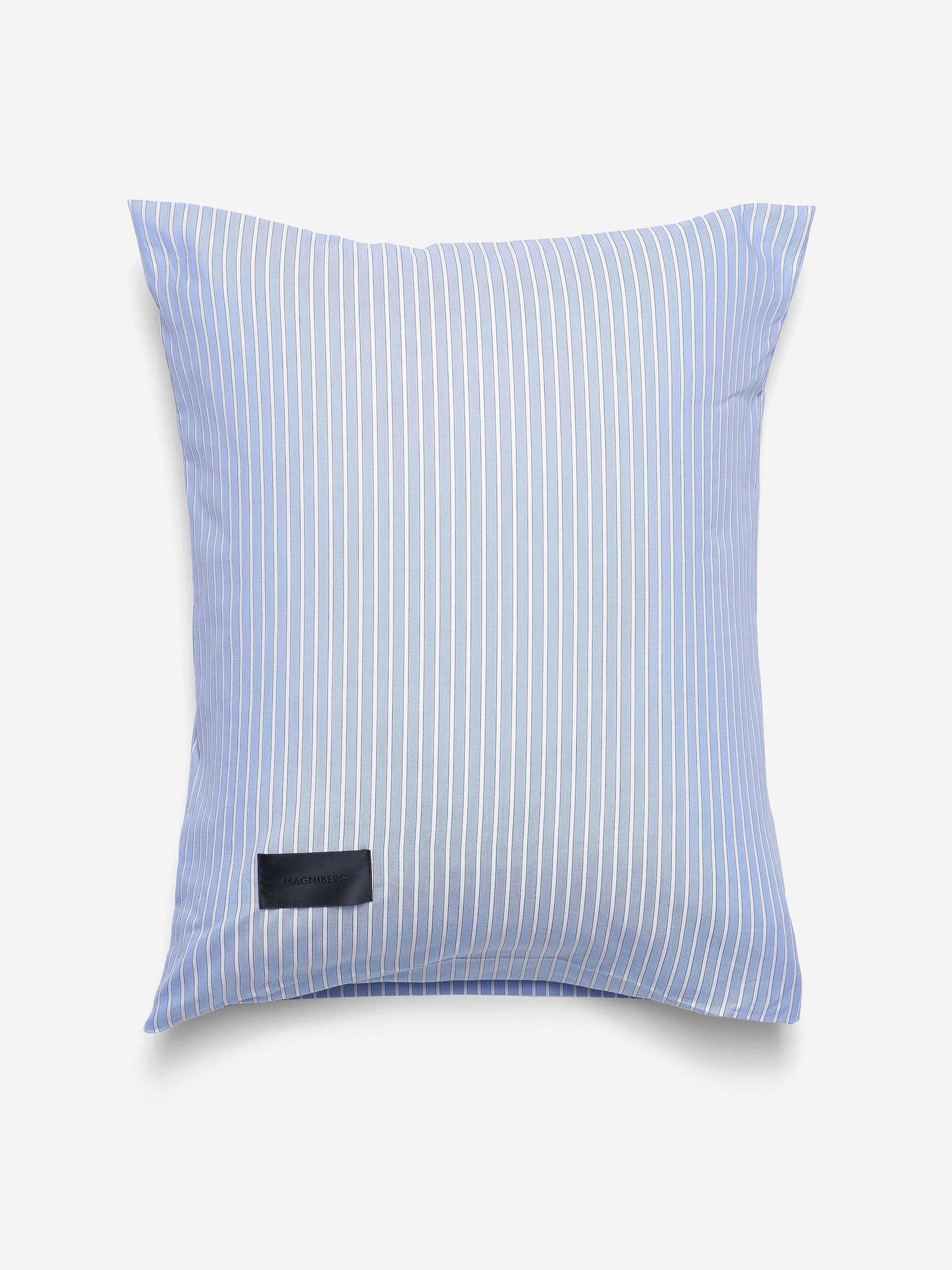 Magniberg Wall Street Oxford Pillow Case Stripe Light Blue