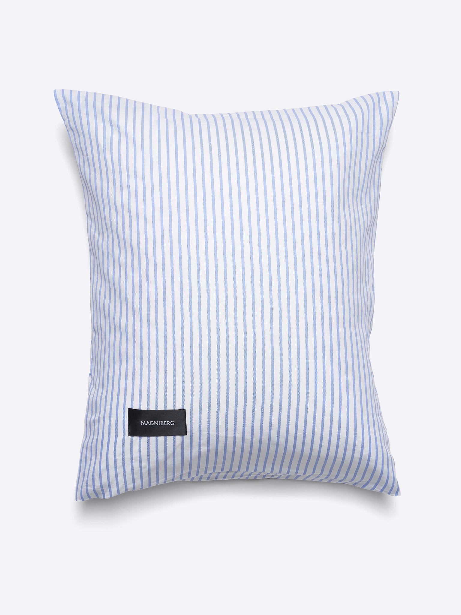 Magniberg Wall Street Oxford Pillow Case Stripe White