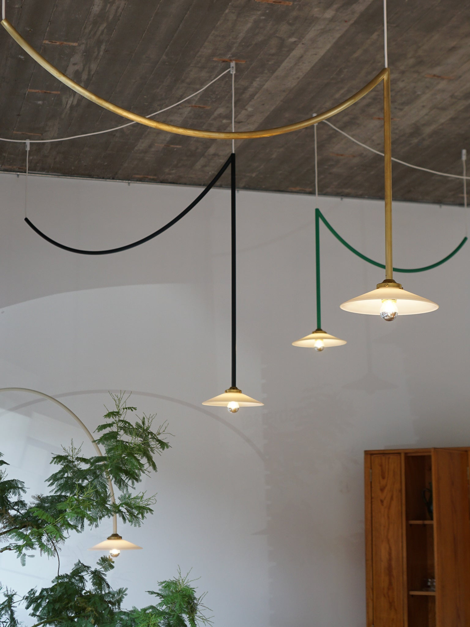 Valerie Objects Ceiling Lamp #4 & #5 by Muller van Severen