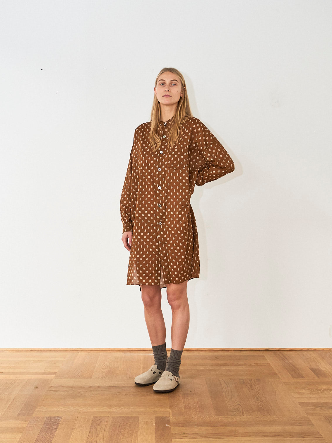 Arts & Science Shirt Dress