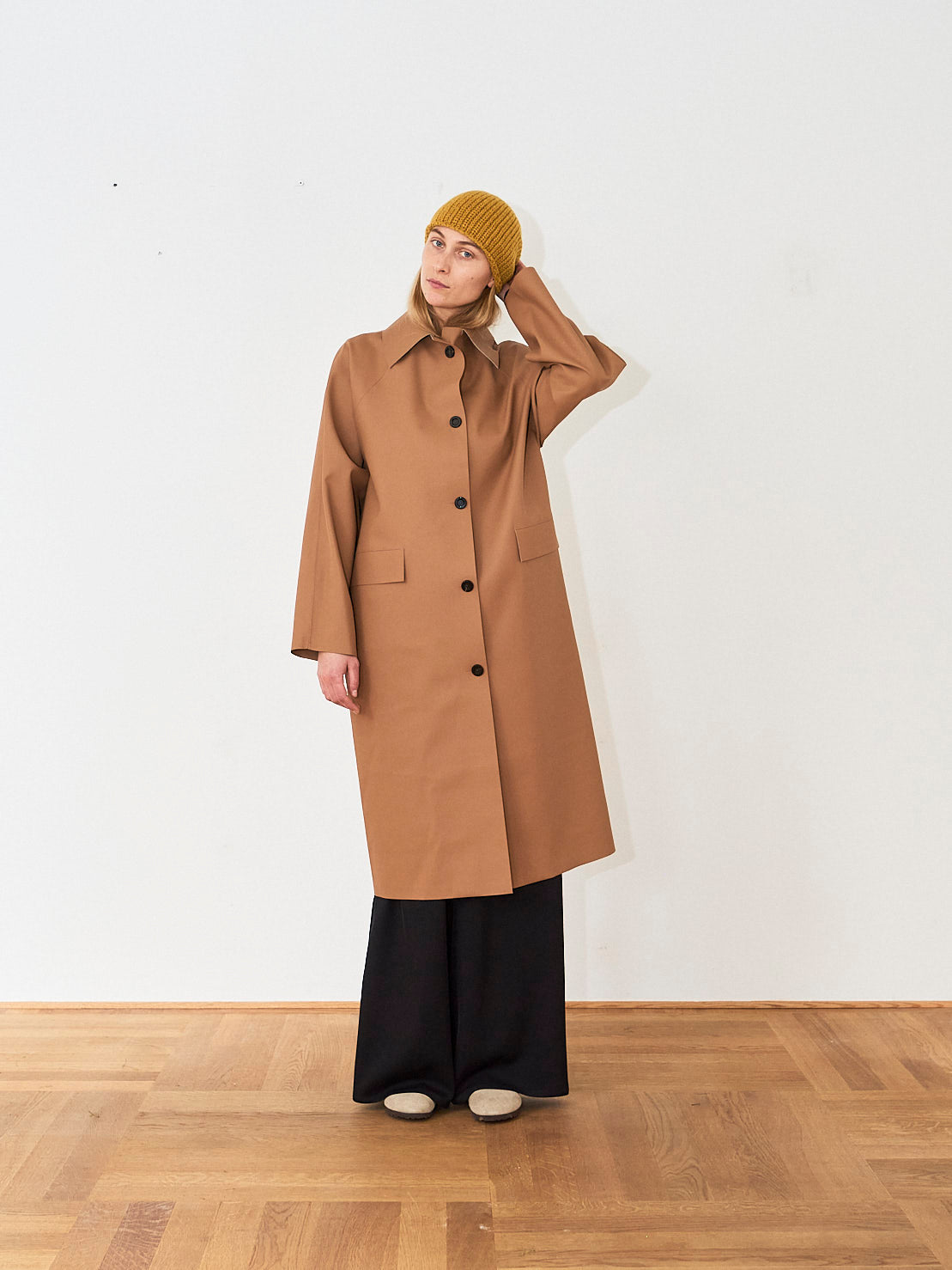 KASSL Editions Rubber Tawny Coat