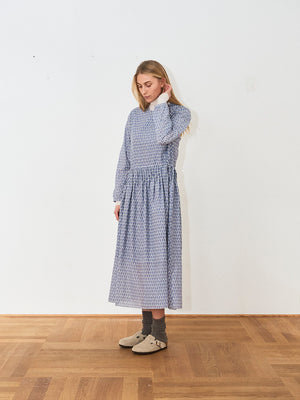 Sara Lanzi Blue Dress