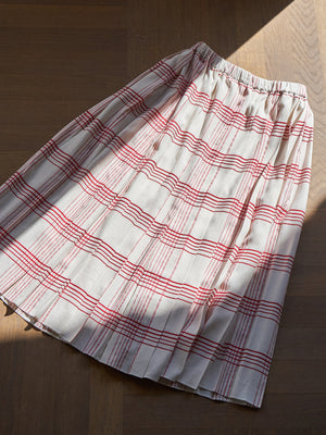 Sara Lanzi Pleated Skirt