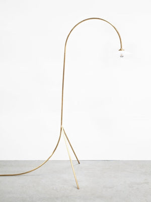 Valerie Objects Standing Lamp #1 by Muller van Severen / Brass