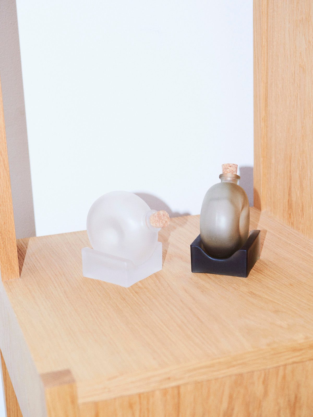 Valerie Objects Mortar and Bottle of Spices by Nendo