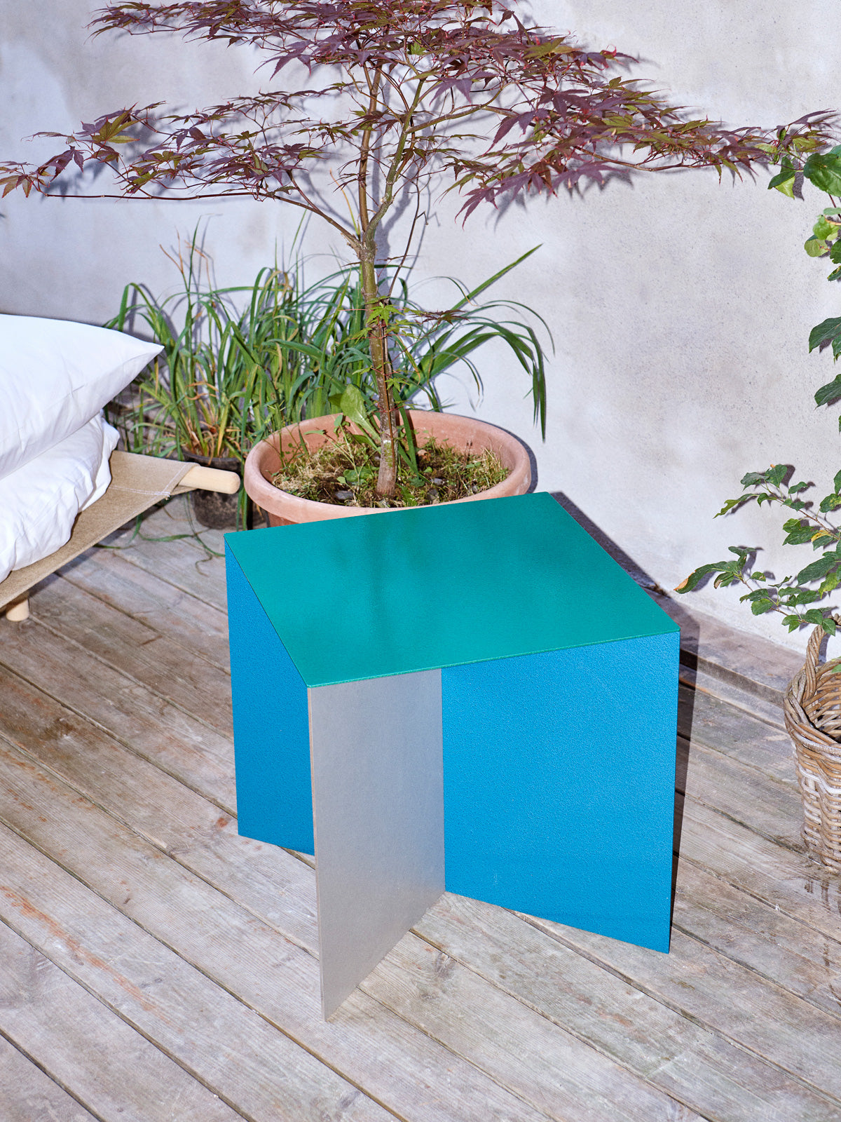 Valerie Objects Alu Square by Muller van Severen