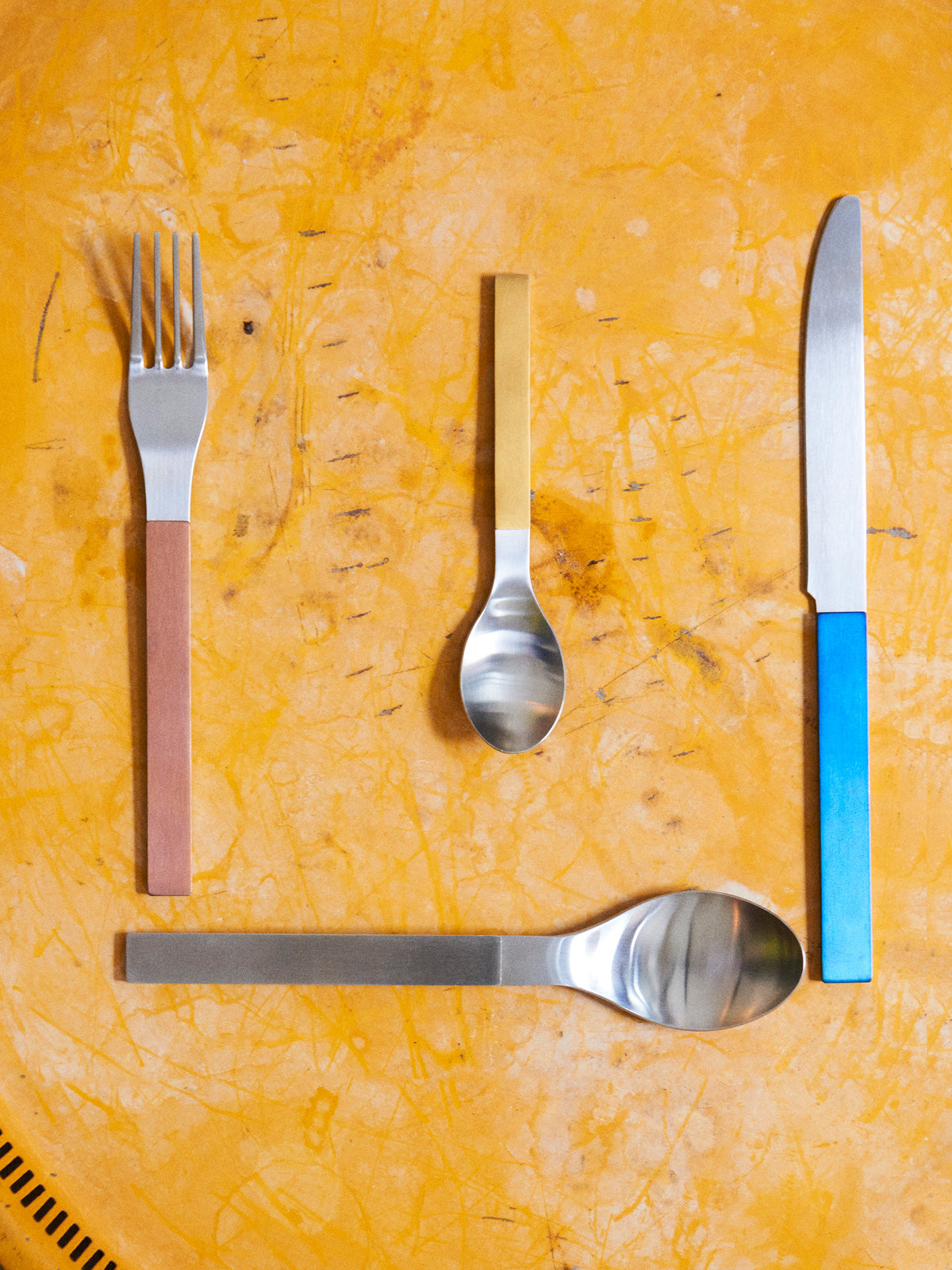 Valerie Objects cutlery by Muller Van Severen