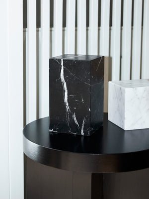 E15 Stop Marble Bookend