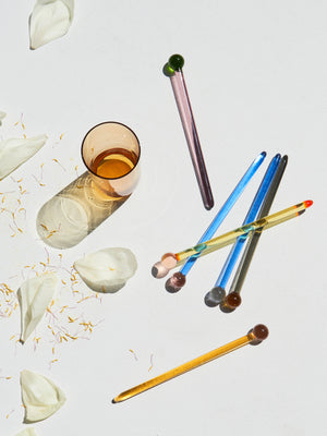 Yali Glass Cocktail Stirrer