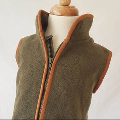 Angus Gilet in Olive | Little Grouse UK