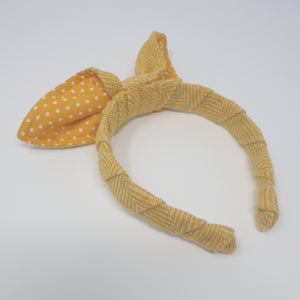 Clova Tweed Bow Hairband - Spring Limited Edition