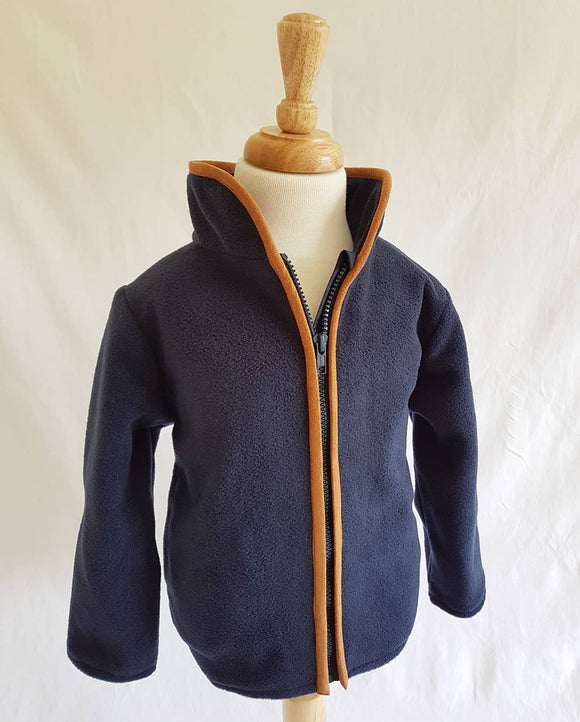 Wirren Fleece in Navy