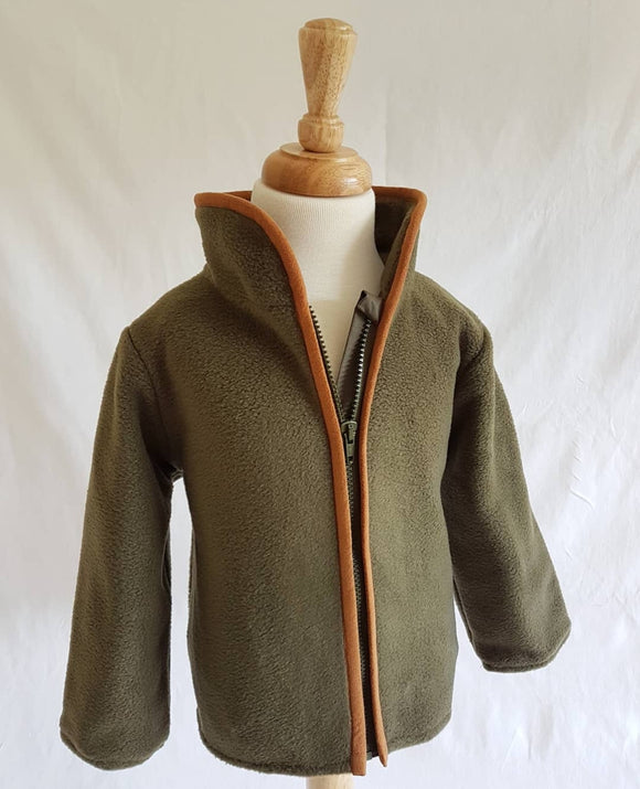 Wirren Fleece in Olive