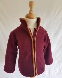 Wirren Fleece in Burgundy