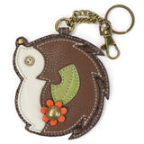 Chala Key Fob/Coin Purse Hedgehog