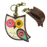 Chala Key Fob/Coin Purse Owl