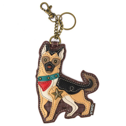 Chala Key Fob/Coin Purse German Shepherd