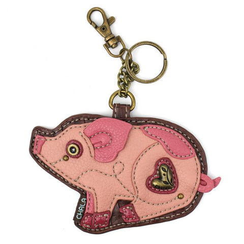 Chala Key Fob/Coin Purse Pig