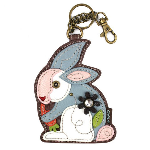 Chala Key Fob/Coin Purse Rabbit
