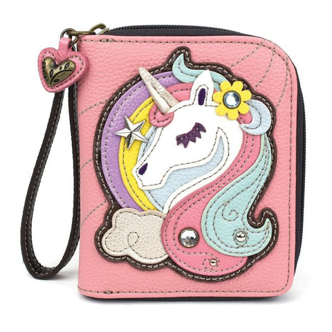 Chala Zip-Around Unicorn Wallet