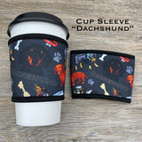 Dog Breed Cup Sleeves
