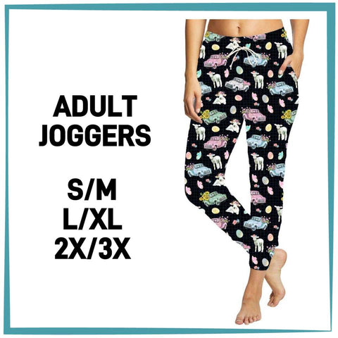 Easter Truck Unisex Joggers Adult