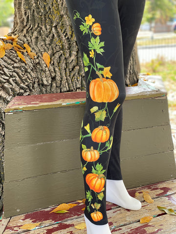 Pumpkin Vine Leggings