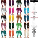 Color Collection Leggings Full length NO POCKETS