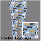 Cow Legging with Pockets