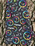 Peace Capri Leggings w/Pockets