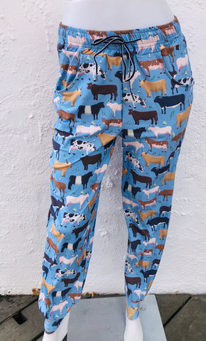 Cow Breed Unisex Joggers