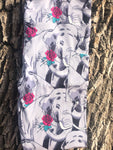 Floral Elephants Legging with Pockets